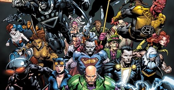Crossover em Os Novos 52, da DC Comics