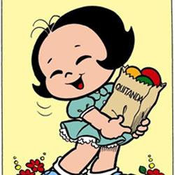 Neuzinha - Filha de japoneses, namorada do Pelezinho