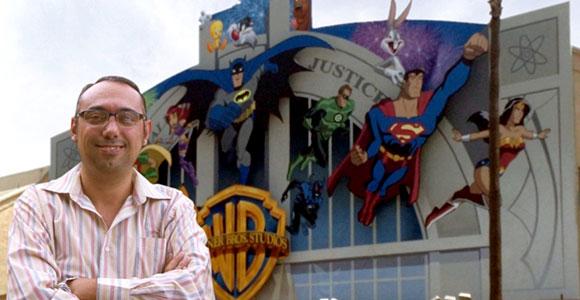 Ilustração de Rodrigodraw do Superman e Batman na Mad Magazine