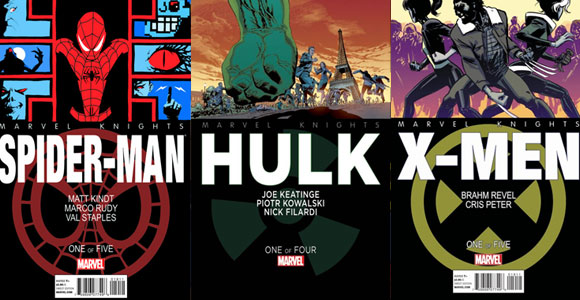 Com selo Marvel Knights, Marvel lança revistas do Homem-Aranha, Hulk e X-Men
