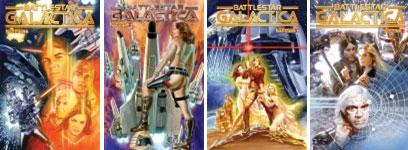 Dynamite Entertainment lançará série com personagem de Battlestar Galactica