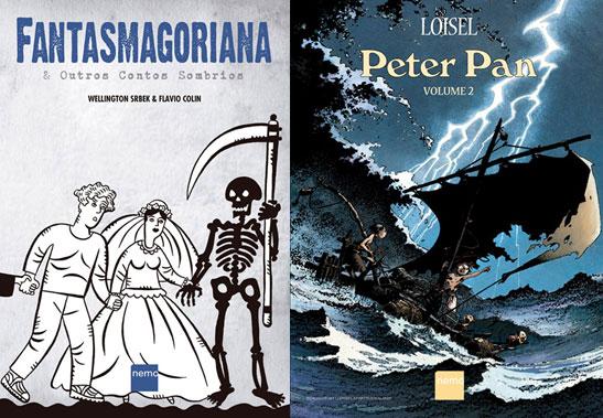 Peter Pan e Fantasmagoriana são destaques da Nemo em agosto