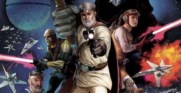 Dark Horse Comics mostra páginas de The Star Wars # 1