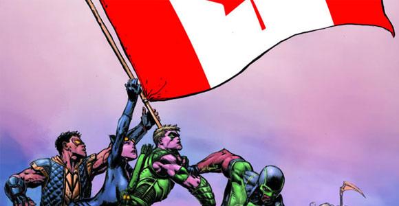 A Liga da Justiça mora agora no Canadá