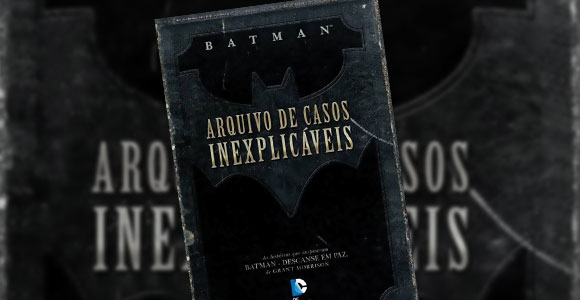 Revista casos inexplicáveis Batman