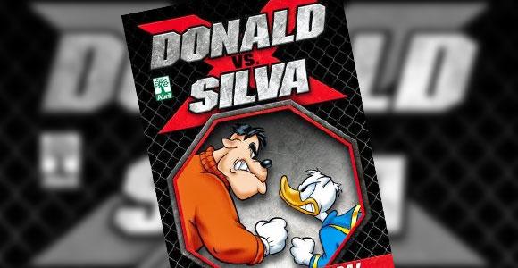 No octógono, Donald e Silva