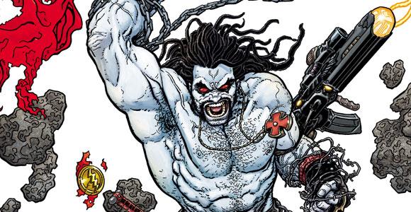 Primeira edição da revista Lobo, pela DC Comics