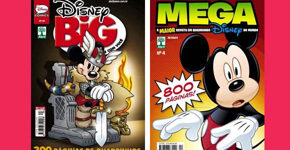 Dusney Big e Mega Disney de Dezembro