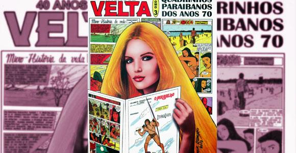 40 anos de Velta – Tomo 3 apresenta HQs clássicas da década de 1970