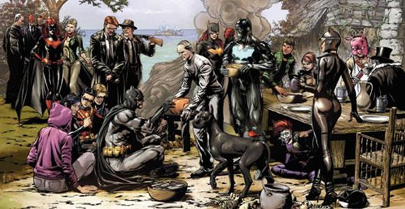 Batman Eternal: Veja teaser da nova revista do Homem-Morcego
