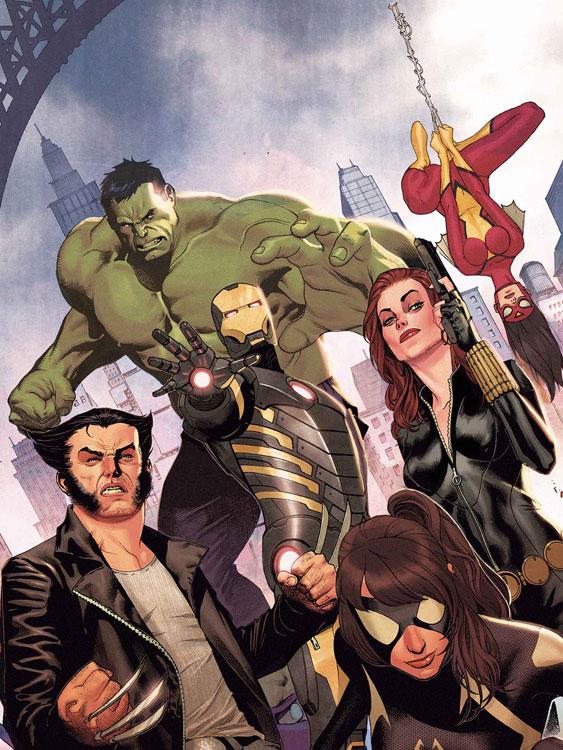 Capa Avengers Assemble