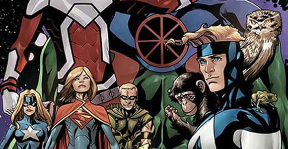 Justice League United, a nova revista mensal da DC