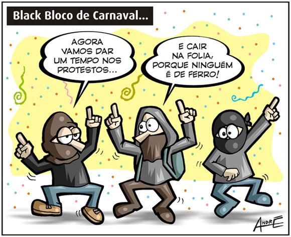 Black Bloco Carnaval - André