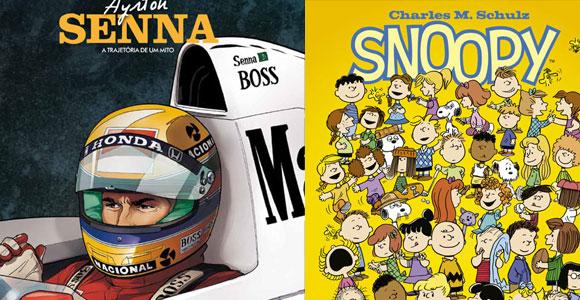 Ayrton Senna e Snoopy são destaques da Nemo deste mês