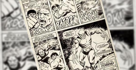 Página original com a estreia de Wolverine é vendida por 657 mil dólares