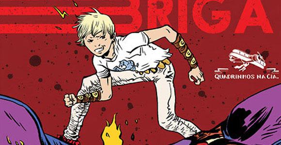 Bom de Briga, de Paul Pope: lançamento da Quadrinhos na Cia.