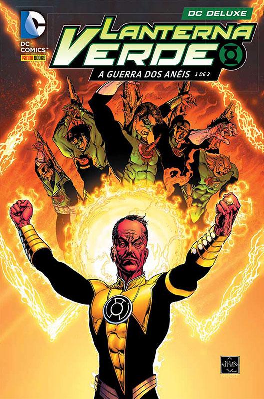 A Guerra dos Anéis é o próximo encadernado do Lanterna Verde pela Panini