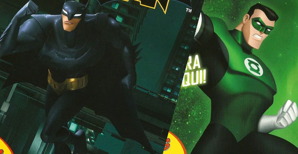 Novas revistas da linha DC Animated nas bancas