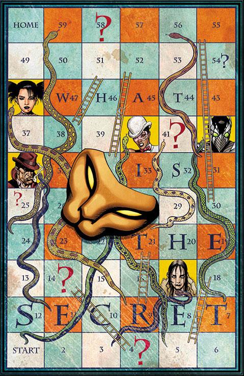Capa - DC anuncia nova série mensal do Sexteto Secreto