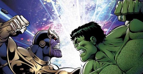 Marvel lançará Thanos vs. Hulk em dezembro