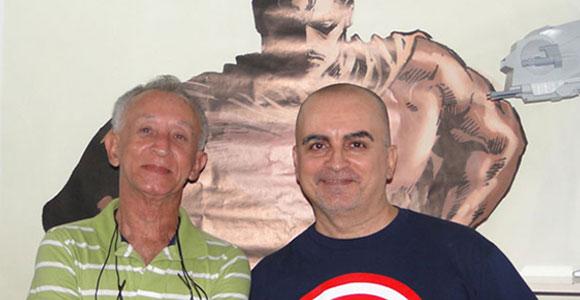 Deodato Taumaturgo Borges e Mike Deodato Jr.