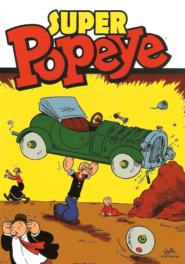 Capa de Super Popeye