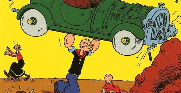 Edição especial com Popeye está nas bancas