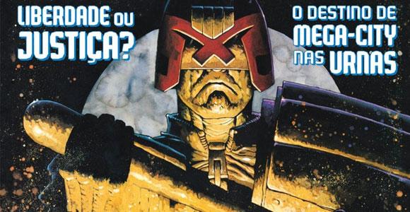 Mythos Editora lança Juiz Dredd Megazine Especial