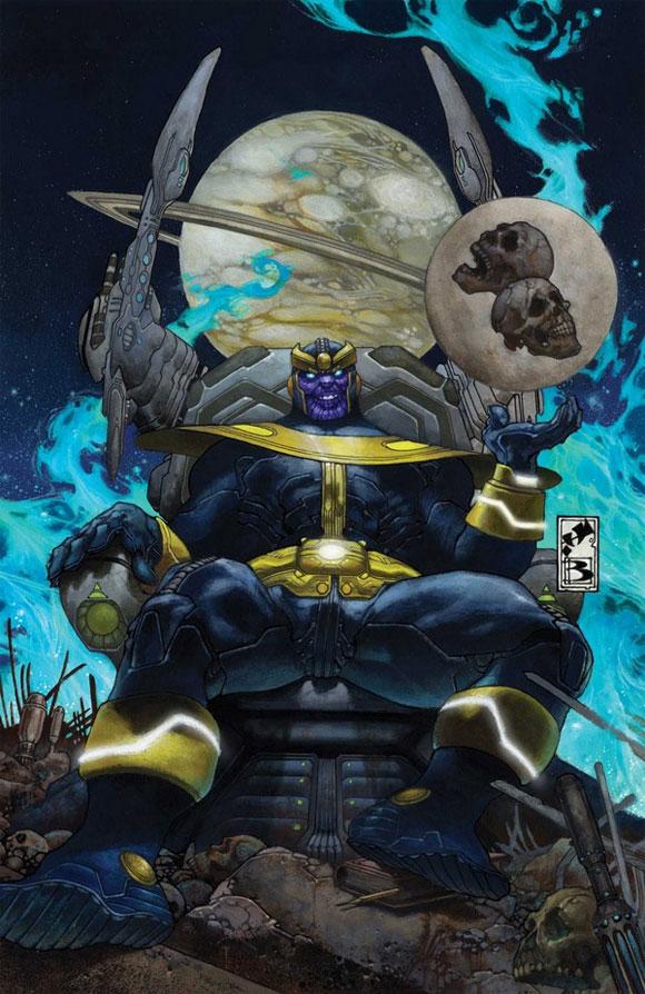 Panini lança a edição especial A Ascensão de Thanos - Capa