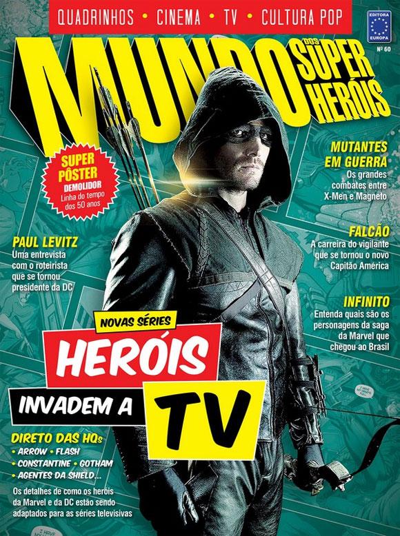 Seriados de heróis na TV são destaque na Mundo dos Super-Heróis