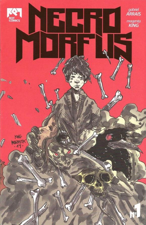 Um jovem imortal e seu estranho dom na HQ independente Necro Morfus