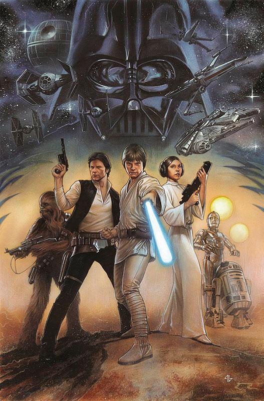 Marvel lançará adaptação remasterizada de Star Wars – Uma nova esperança