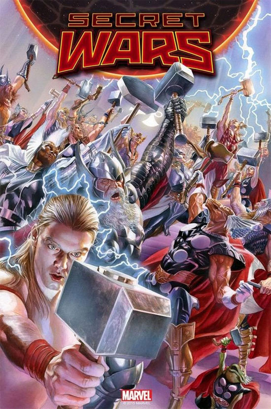 Marvel Comics anunciou reboot de seu universo