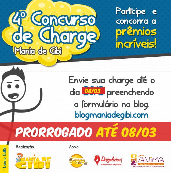 4º Concurso de charge - Prorrogado! até 08/03