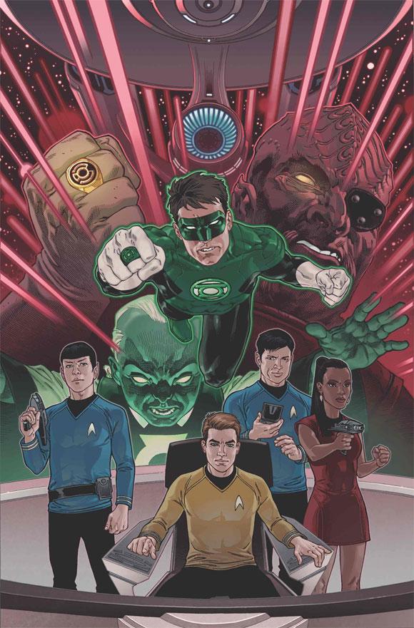 Lanterna Verde e Star Trek em crossover da IDW