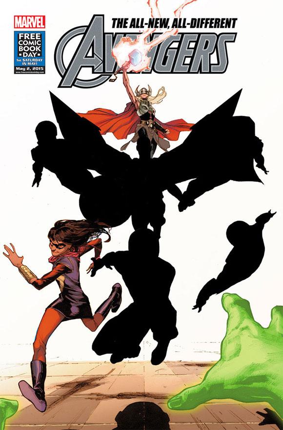 Marvel Comics lançará nova revista dos Vingadores