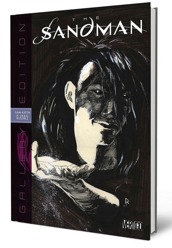 Sandman: edição de luxo traz as páginas originais completas de HQs da série