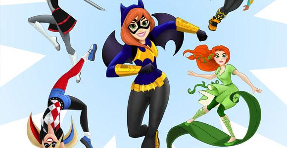 Super-heroínas e supervilãs da DC em novo gibi para meninas