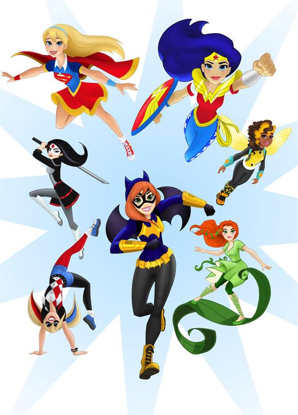 Super-heroínas-e-supervilãs-da-DC-em-novo-gibi-para-meninas_capa