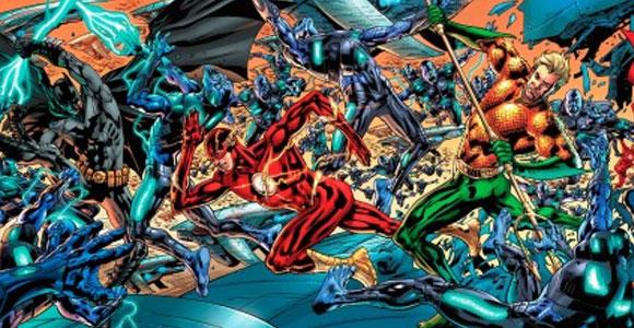 Bryan Hitch ilustra mosaico de sete partes da Liga da Justiça