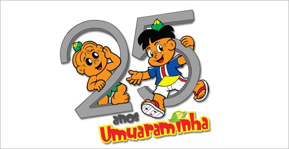 Personagem Umuaraminha, do cartunista Marcos Vaz, comemora 25 anos