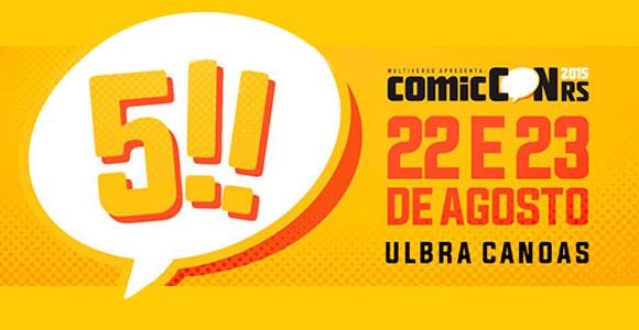 Veja os detalhes e convidados da quinta edição da ComicCon RS