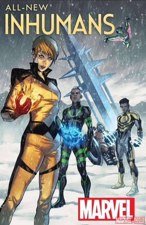 Marvel anuncia nova série em quadrinhos para os Inumanos