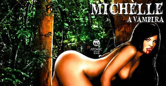 Editora Atomic lança: Michèlle – A Vampira