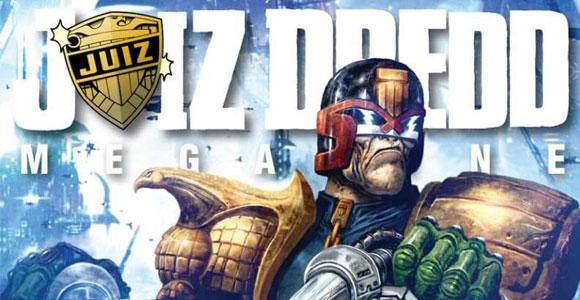 Mythos cancela a revista em quadrinhos Juiz Dredd Megazine