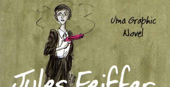 Quadrinhos na Cia. lança Mate minha mãe, de Jules Feiffer
