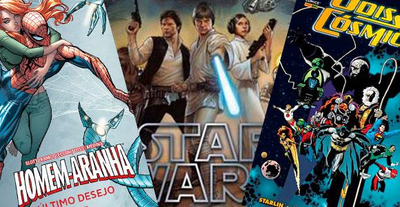 Star-Wars,-Homem-Aranha,-Odisseia-Cósmica-e-Liga-da-Justiça-em-novos-encadernados-da-Panini