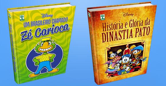 Zé Carioca e Dinastia Pato: reveladas as capas dos especiais em capa dura