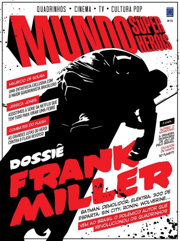Frank-Miller-em-destaque-na-revista-Mundo-dos-Super-Heróis-#-73_capa