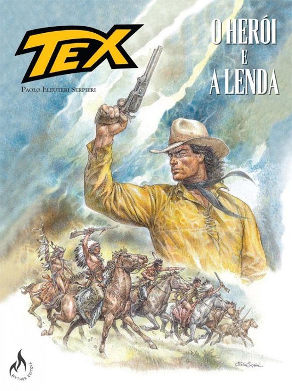 Mythos-Editora-lança-graphic-novel-de-Tex-com-arte-e-roteiro-de-Serpieri-capa